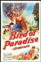Bird of Paradise 1951 DVD - Debra Paget / Louis Jourdan